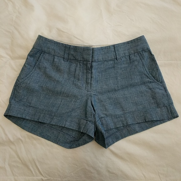 LOFT Pants - LOFT chambray shorts
